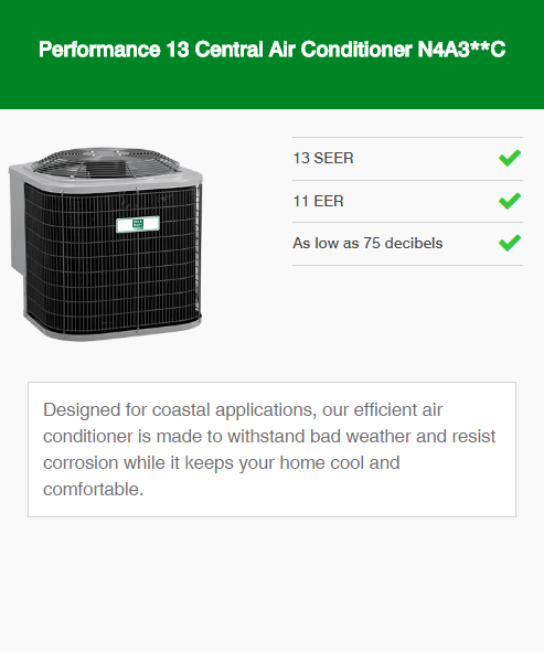 Performance-13-Central-Air-Conditioner-N4A3C